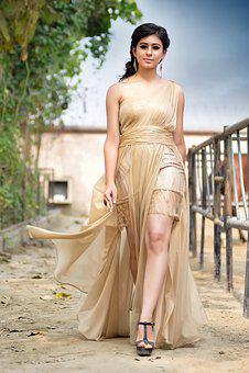 Woman, Beautiful, Dress, Summer, Fashion