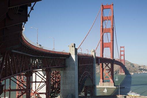 San Francisco, Bridge, Us