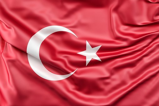 Flag Of Turkey, Flag, Turkey, Middle, East, Turkey Flag