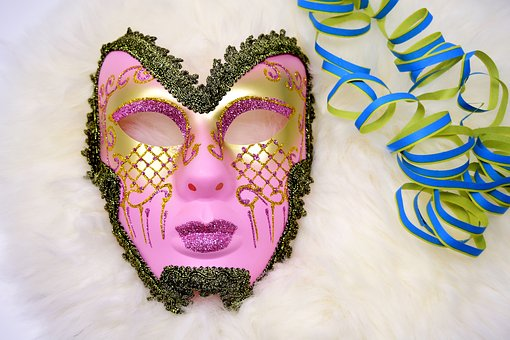 Mask, Carnival, Fool-time, Panel, Celebrate, Party