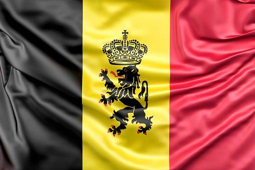 Belgium, Flag, Flag Of Belgium, Belgian, Silk, Nation