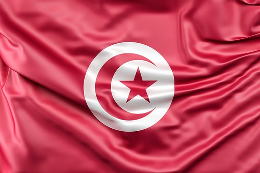 Flag Of Tunisia, Flag, Tunisia, Symbol, Africa, African