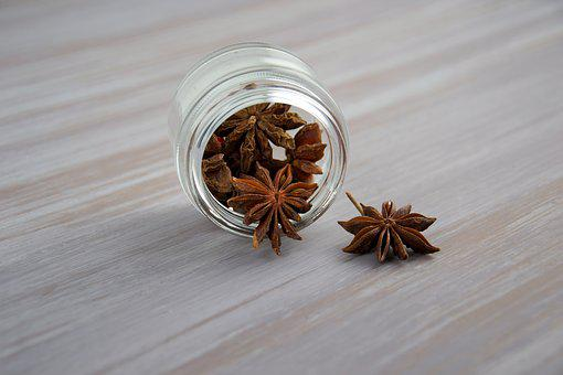 Anise, Spices, Seasonings, Star Anise, Odor