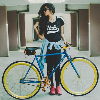 Wheel, Cyclist, Bike, People, Seated