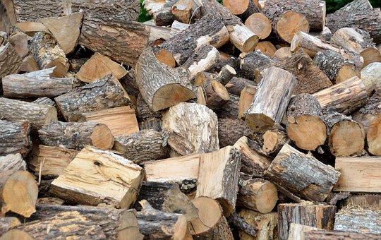 Firewood, Tree Log, Resource, Woodpile, Log, Stack