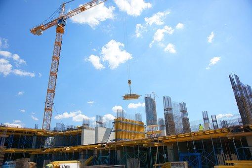 Crane, Industry, Daniel, Sky, Steel, Metal, Structure