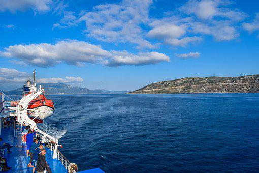 Travel, Water, Sea, Sky, Panoramic, Landscape, Tourism