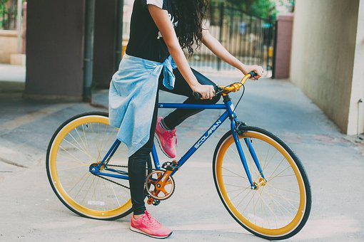 Wheel, Bike, Cyclist, Seated, Lifestyle