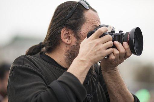 Male, Contact, Photographer, Human, Camera, Exposure