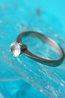 Ring, Diamond, Blue, Ice, Jewelry, Engagement, Marriage