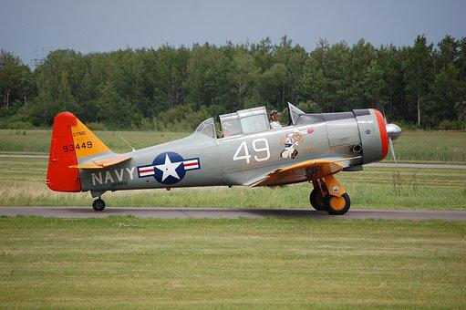 Airplane, Aircraft, Military, Wwii Fighter
