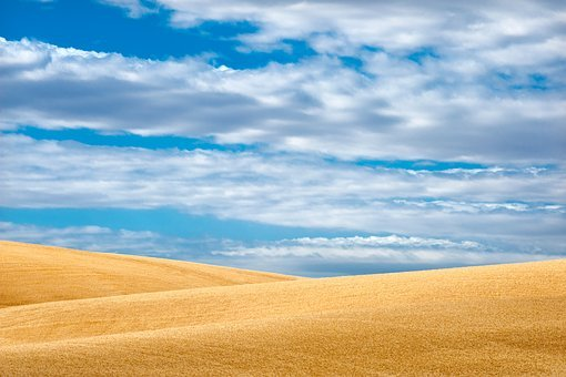 Panoramic, Nature, Sky, Outdoors, Summer, Dry