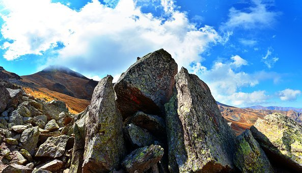 Mountain, Nature, Panoramic, Kennedy, Landscape, Stone