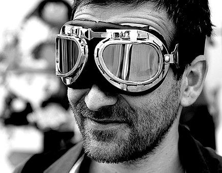Man, Sunglasses, Adult, Eyewear, People, Portrait, Face