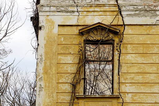 Ruin, Architecture, Window, Historically, Old Building