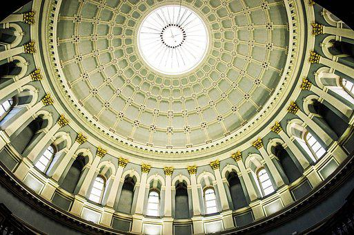 Dome, Architecture, Travel, Ceiling, Building