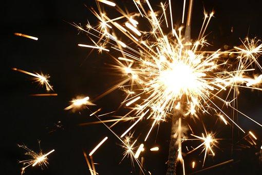 Celebration, Festival, Sparkler, Fireworks, Flare-up