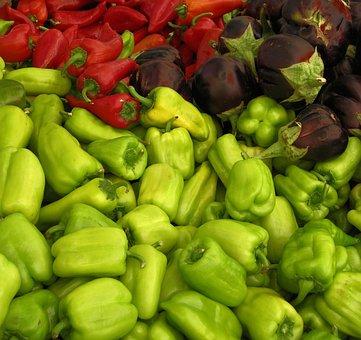 Food, Market, Vegetable, Grow, Pepper, Healthy