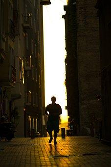 Human, Male, Walk, Navigator, Music, City, Street