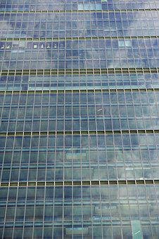 Contemporary, Model, Glass, Modern, Skyscraper
