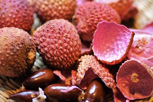 Lychee, Exotic, Fruit, Awesome, Peel, Fetus, Refreshing