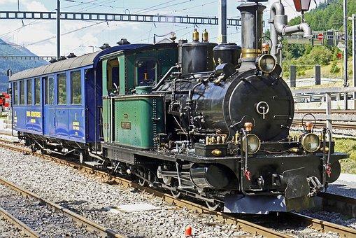 Switzerland, Steam Locomotive