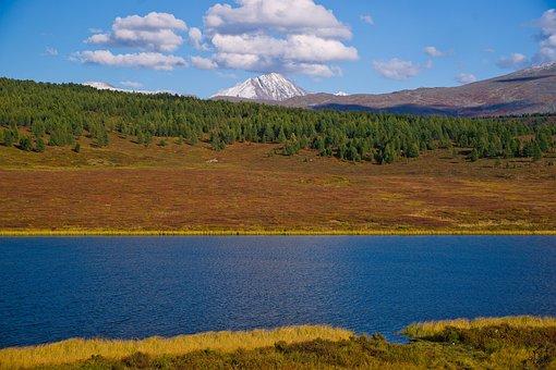 Lake, Water, Landscape, No One, Nature, Blue, Beautiful