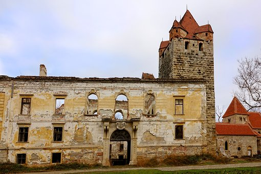 Ruin, Architecture, Old, Castle Ruins, Tower