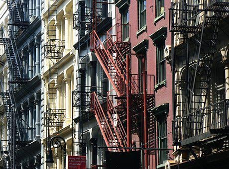 New York, City, Architecture, Building, Facade
