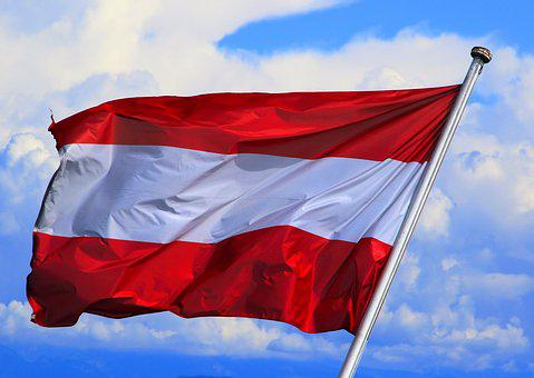 Austria, Flag, Wind, Patriotism, Banner, Flagpole