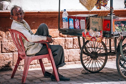 Food, Street, Indian, India, People, Vendor, Shop