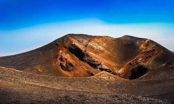 Volcano, Panoramic, Nature, Landscape, Mountain, Hot