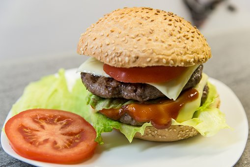 Food, Minced Meat, Burger, Beef, Roll, Gluten Free