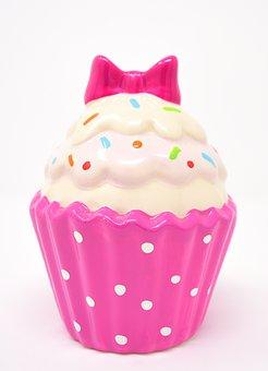 Cupcake, Ceramic, Dessert, Decoration, Fragile, Cake