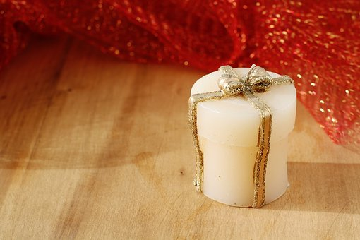 Candle, Christmas, Gift, Red, Candles, Light