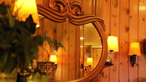 Wood-fibre Boards, No One, Inside, Hotel, Home
