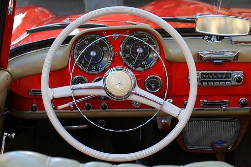 Auto, Dashboard, Steering Wheel, Transport System