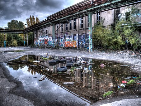 Water, Nature, Architecture, Lost Places, Berlin