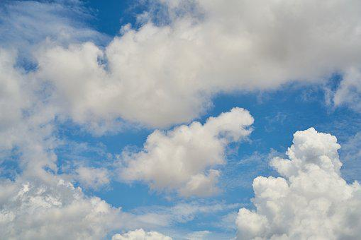 Clouds, Blue, Nature, Summer, Cloud, White, Landscape
