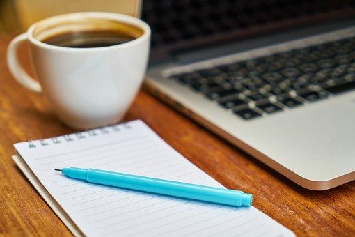 Laptop, Coffee, Computer, The Work, Work, Keyboard