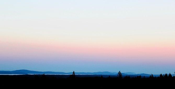 Sunset, Sky, Nature, Dawn, Outdoors, Dusk, Landscape