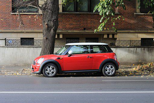 Car, Vehicle, Road, Pavement, Cooper, Smart, Urban