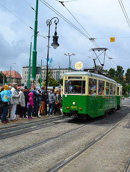 Old Tram, A Monument To The Automotive Industry, Tech