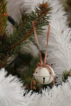 Christmas, Winter, Christmas Tree, Chain, Tinker Bell