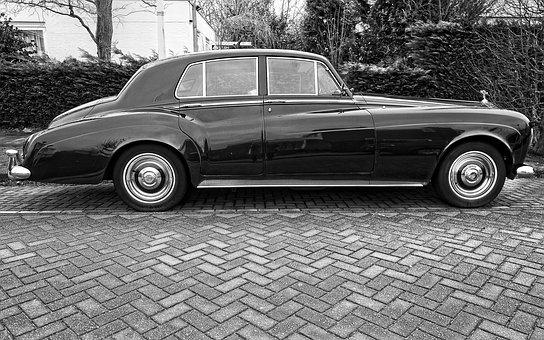 Rolls Royce, Classic Rolls Royce, Black Rolls Royce