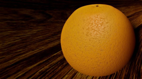 Grapefruit, Orange, Wood, Desktop, Fruit, Table, Wooden