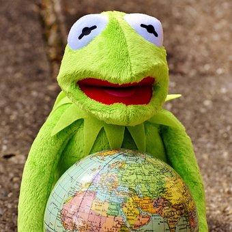 Kermit, Embrace The World, Happy, Feelings, Funny
