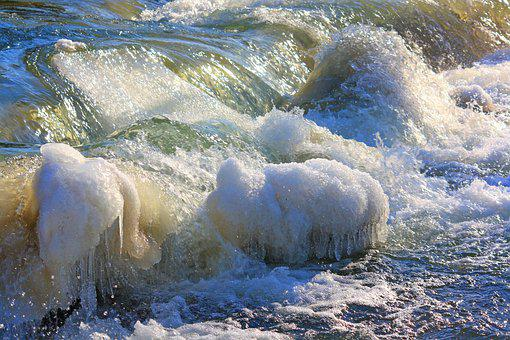 Waters, Nature, River, Ice, Cold, Water, Iced