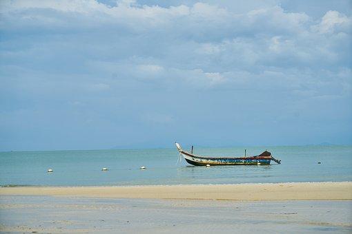 Marine, Ocean, Blue, Swim, Holiday, Landscape, Nature