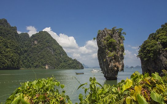 Water, Nature, Travel, Sky, Landscape, Island, Summer